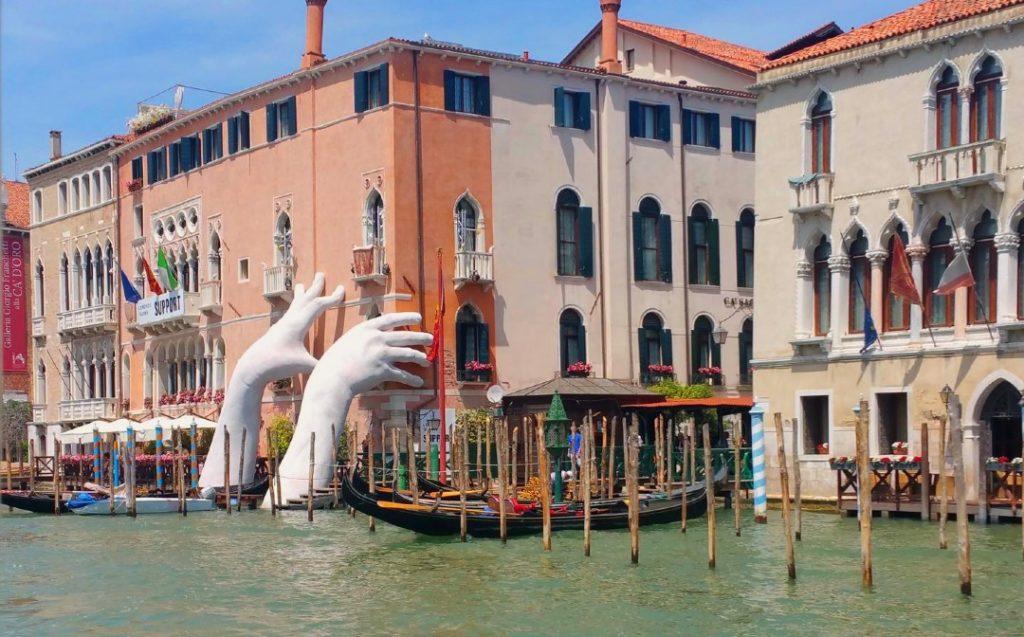 Venise focus street art