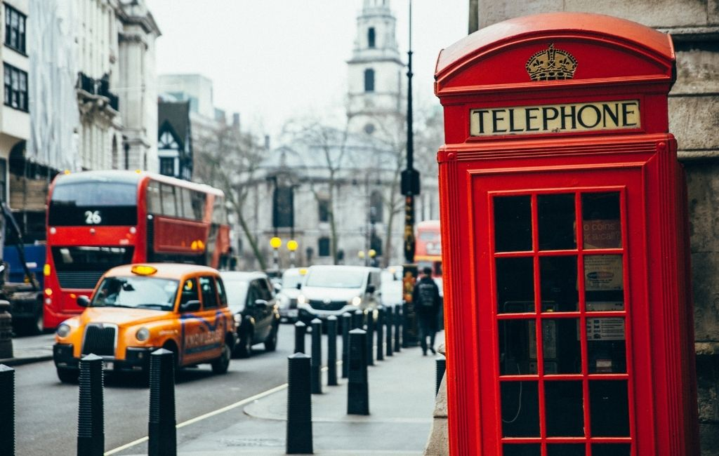 London 10 Choses